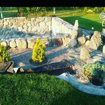 Akmens mūro darbai, Šlaitų ir pakrančių tvirtinimas.Atramine / Saulius / Darbų pavyzdys ID 315885