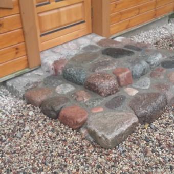 Akmens mūro darbai, Šlaitų ir pakrančių tvirtinimas.Atramine / Saulius / Darbų pavyzdys ID 315889