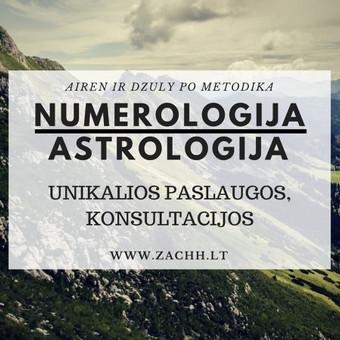 Astrologinė numerologinė konsultacija / Samantha Zachh / Darbų pavyzdys ID 317289