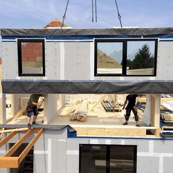 Sveiki namai - ekologiškų namų statyba / Sveiki namai / Darbų pavyzdys ID 317537