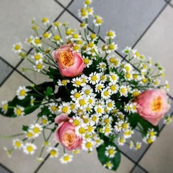Nuotaikingos gėlės / Aleksandra Kiseliovienė / Darbų pavyzdys ID 317655