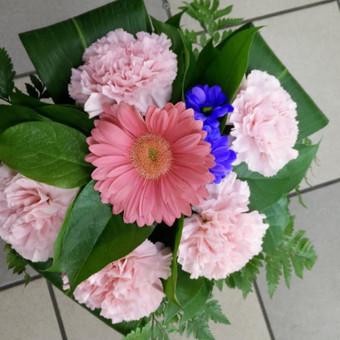 Nuotaikingos gėlės / Aleksandra Kiseliovienė / Darbų pavyzdys ID 318737