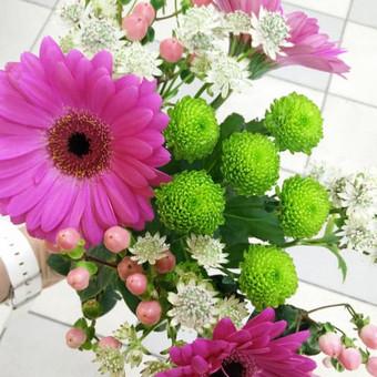 Nuotaikingos gėlės / Aleksandra Kiseliovienė / Darbų pavyzdys ID 318741
