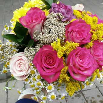 Nuotaikingos gėlės / Aleksandra Kiseliovienė / Darbų pavyzdys ID 318875