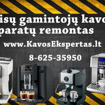 Kavos Aparatų Remontas / Marius / Darbų pavyzdys ID 319053