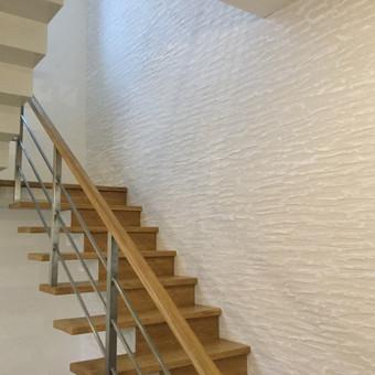 Sienų, lubų, židinių dekoravimas tinku / Margarita / Darbų pavyzdys ID 319267