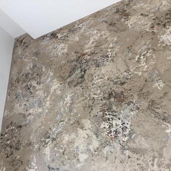Sienų, lubų, židinių dekoravimas tinku / Margarita / Darbų pavyzdys ID 319269