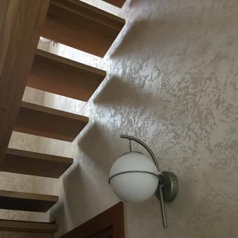 Sienų, lubų, židinių dekoravimas tinku / Margarita / Darbų pavyzdys ID 319281