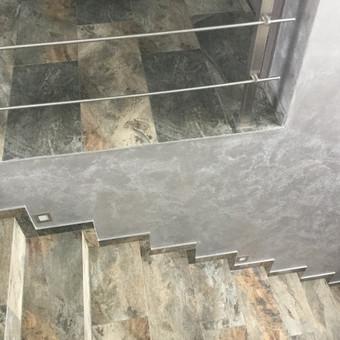 Sienų, lubų, židinių dekoravimas tinku / Margarita / Darbų pavyzdys ID 319285