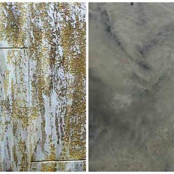 Sienų, lubų, židinių dekoravimas tinku / Margarita / Darbų pavyzdys ID 319287