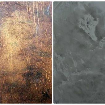 Sienų, lubų, židinių dekoravimas tinku / Margarita / Darbų pavyzdys ID 319289