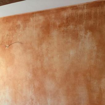 Sienų, lubų, židinių dekoravimas tinku / Margarita / Darbų pavyzdys ID 319297