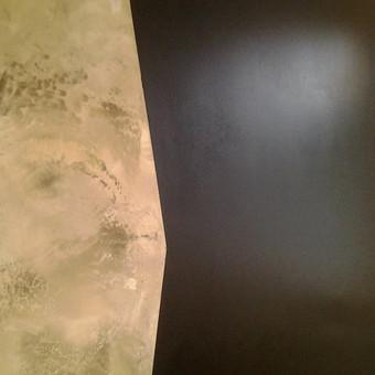 Sienų, lubų, židinių dekoravimas tinku / Margarita / Darbų pavyzdys ID 319301