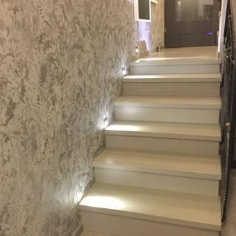 Sienų, lubų, židinių dekoravimas tinku / Margarita / Darbų pavyzdys ID 319305