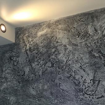 Sienų, lubų, židinių dekoravimas tinku / Margarita / Darbų pavyzdys ID 319307