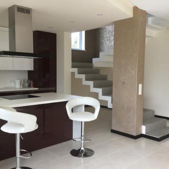 Sienų, lubų, židinių dekoravimas tinku / Margarita / Darbų pavyzdys ID 319309