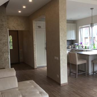 Sienų, lubų, židinių dekoravimas tinku / Margarita / Darbų pavyzdys ID 319313