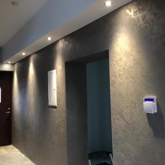 Sienų, lubų, židinių dekoravimas tinku / Margarita / Darbų pavyzdys ID 319315