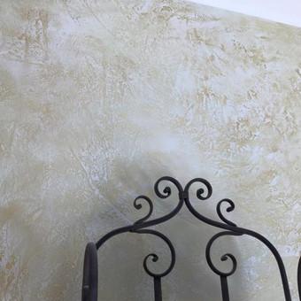 Sienų, lubų, židinių dekoravimas tinku / Margarita / Darbų pavyzdys ID 319317