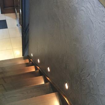 Sienų, lubų, židinių dekoravimas tinku / Margarita / Darbų pavyzdys ID 319319