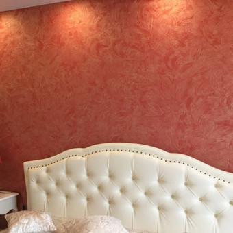 Sienų, lubų, židinių dekoravimas tinku / Margarita / Darbų pavyzdys ID 319321