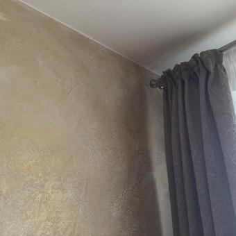 Sienų, lubų, židinių dekoravimas tinku / Margarita / Darbų pavyzdys ID 319325
