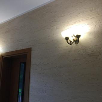 Sienų, lubų, židinių dekoravimas tinku / Margarita / Darbų pavyzdys ID 319333
