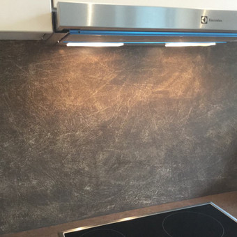 Sienų, lubų, židinių dekoravimas tinku / Margarita / Darbų pavyzdys ID 319335
