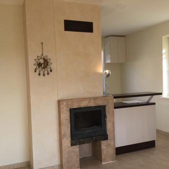 Sienų, lubų, židinių dekoravimas tinku / Margarita / Darbų pavyzdys ID 319337