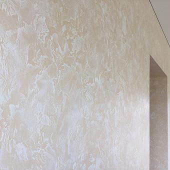 Sienų, lubų, židinių dekoravimas tinku / Margarita / Darbų pavyzdys ID 319347