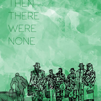 "Plakatas ""then there were none"" filmui, pagal A.Christi romaną"