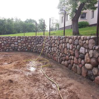Akmens mūro darbai / Giedrius Keršulis / Darbų pavyzdys ID 320291