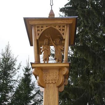 Kryžiai, koplytstulpiai, koplytėlės / Tomas Stambrauskas / Darbų pavyzdys ID 320385