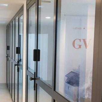 Aliuminio konstrukcijos - durys, langai. / Tomas Meškauskas / Darbų pavyzdys ID 320453