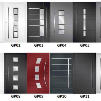 Aliuminio konstrukcijos - durys, langai. / Tomas Meškauskas / Darbų pavyzdys ID 320461