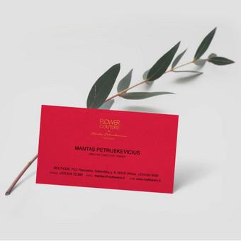 Vizitinės kortelės dizainas Mantui Petruškevičiui.
