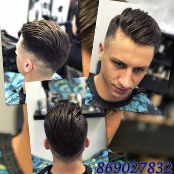 Vyriški kirpimai,barzdų modeliavimas,skutimas. / Loreta / Darbų pavyzdys ID 322209