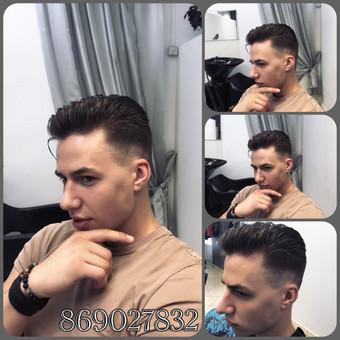 Vyriški kirpimai,barzdų modeliavimas,skutimas. / Loreta / Darbų pavyzdys ID 322211