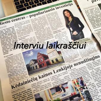 NT brokerė! 5 metų patirtis NT srityje! Kaunas / Sandra Klimaitė / Darbų pavyzdys ID 322687