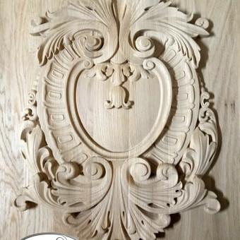 """Drožiniai, dekorai baldams ir durims / UAB """"Medžio raštai"""" / Darbų pavyzdys ID 322949"""