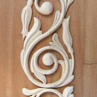 """Drožiniai, dekorai baldams ir durims / UAB """"Medžio raštai"""" / Darbų pavyzdys ID 322959"""