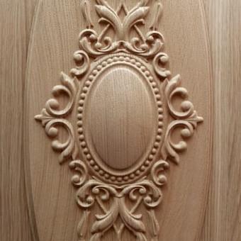 """Drožiniai, dekorai baldams ir durims / UAB """"Medžio raštai"""" / Darbų pavyzdys ID 322993"""