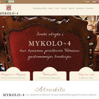 Interneto svetainių kūrimas, priežiūra ir palaikymas / Mindaugas Daraškevičius / Darbų pavyzdys ID 324893