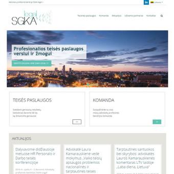 Interneto svetainių kūrimas, priežiūra ir palaikymas / Mindaugas Daraškevičius / Darbų pavyzdys ID 324907