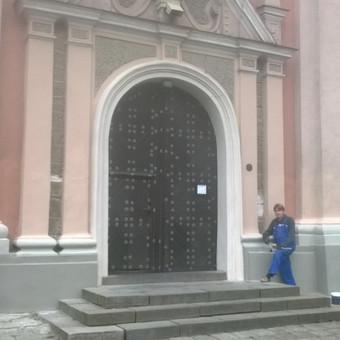 bažnyčios fasado renovacija