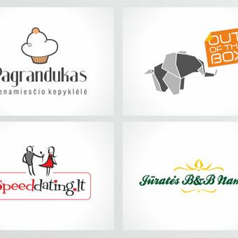 Grafikos dizainerė - logotipų kūrimas, skrajutės, vizitinės / Agnietė Suknelevičienė / Darbų pavyzdys ID 325505
