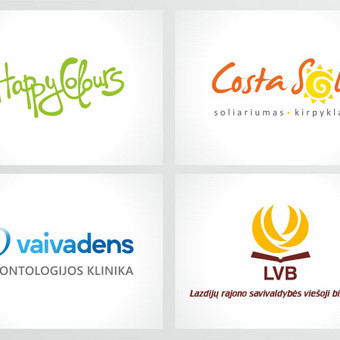 Grafikos dizainerė - logotipų kūrimas, skrajutės, vizitinės / Agnietė Suknelevičienė / Darbų pavyzdys ID 325511