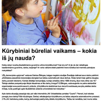 SEO straipsnių ir tekstų rašymas / Vitalija Paulauskaitė / Darbų pavyzdys ID 326637