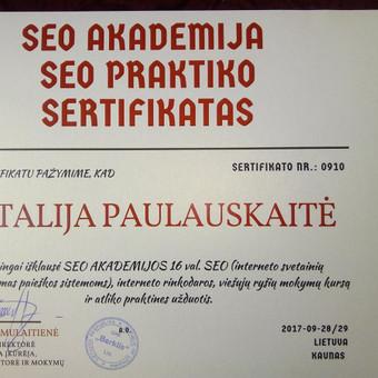 SEO straipsnių ir tekstų rašymas / Vitalija Paulauskaitė / Darbų pavyzdys ID 326651