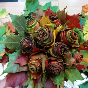 Nuotaikingos gėlės / Aleksandra Kiseliovienė / Darbų pavyzdys ID 326841